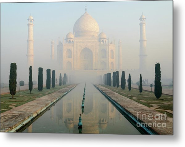 Taj Mahal At Sunrise 02 Metal Print