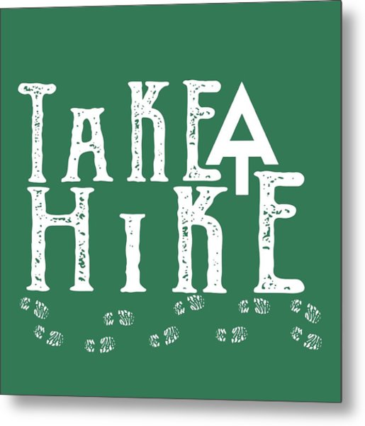 Take A Hike  Metal Print
