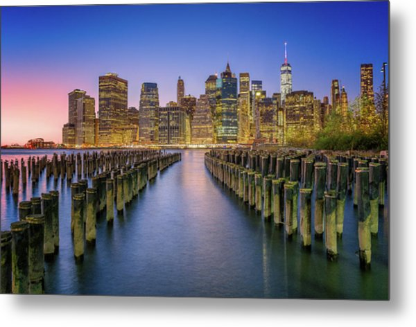 Take Me To Nyc Metal Print