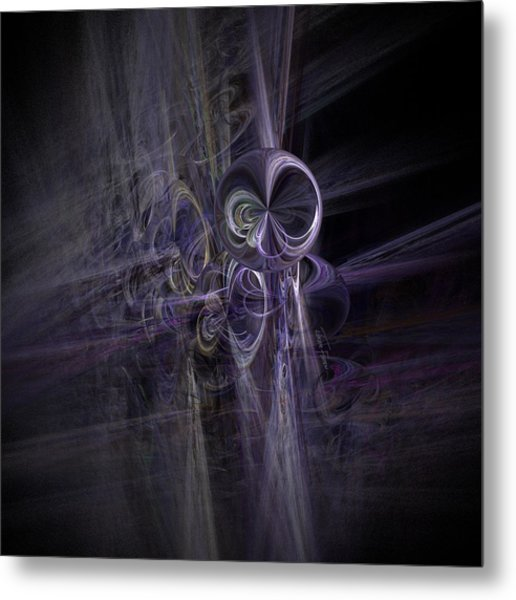 Take Me To Your Leader Metal Print