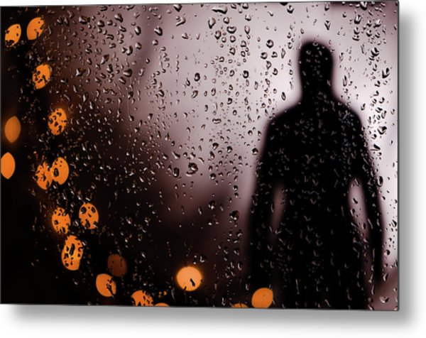 Take Your Light With You Metal Print