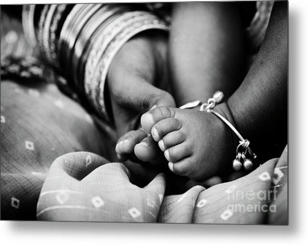 Taking Care Metal Print by Tim Gainey