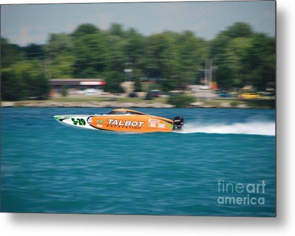 Talbot Offshore Racing Metal Print