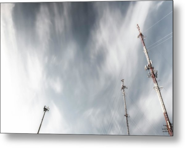 Talk To Each Other Metal Print