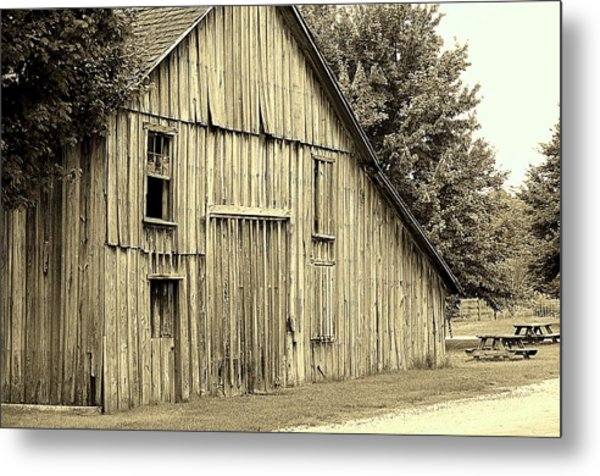 Tall Barn Metal Print