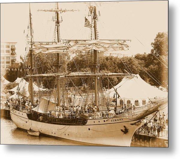 Tall Ship Series 6 Metal Print by Scott Hovind