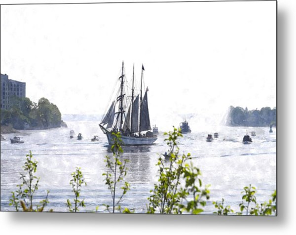 Tall Ship Tswc Metal Print