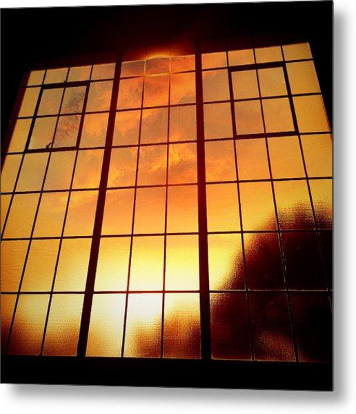 Tall Windows #1 Metal Print by Maxim Tzinman