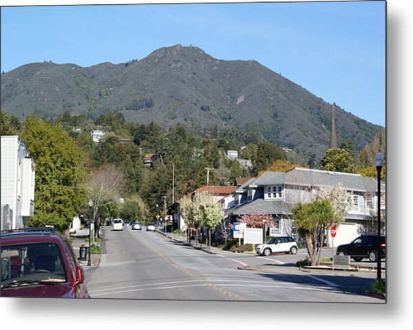 Tamalpais From Mill Valley Metal Print
