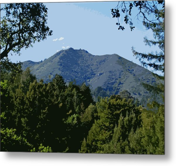 Tamalpais...the Sleeping Princess Metal Print
