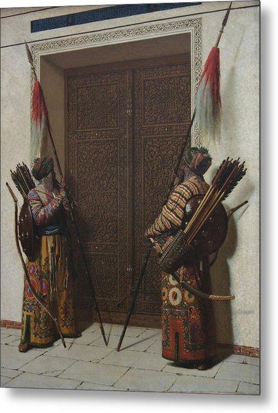 Tamerians Doors Metal Print by Vasily Vereshchagin