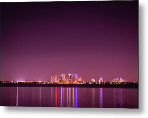 Tampa Bay Skyline Metal Print