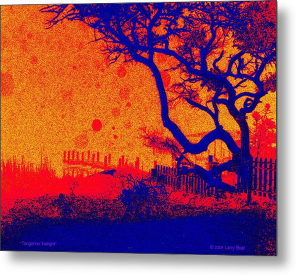 Tangerine Twilight Metal Print
