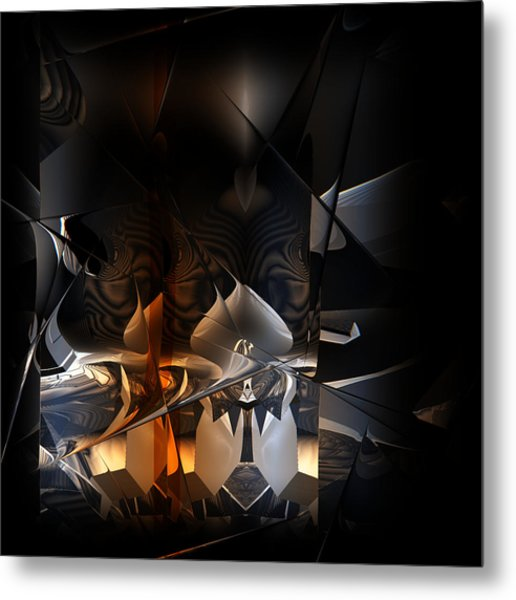 Metal Print featuring the digital art Tangier by Vadim Epstein