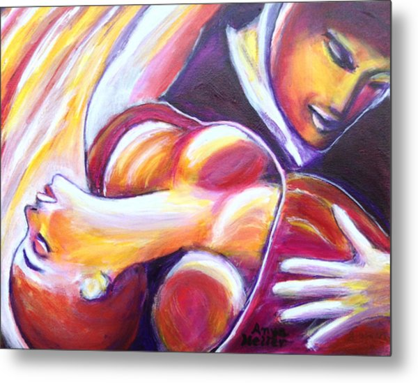 Tango Passion Metal Print