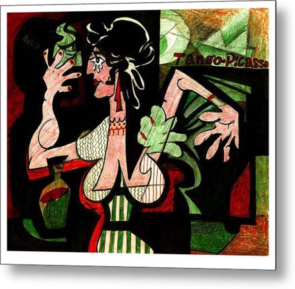 Tango Picasso Metal Print