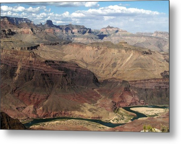 Tanner Rapids And The Colorado River Grand Canyon National Park Metal Print
