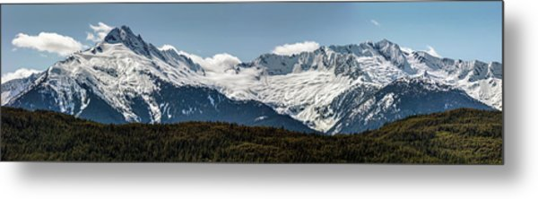 Metal Print featuring the photograph Tantalus Mountain Range On The Sea To Sky by Pierre Leclerc Photography