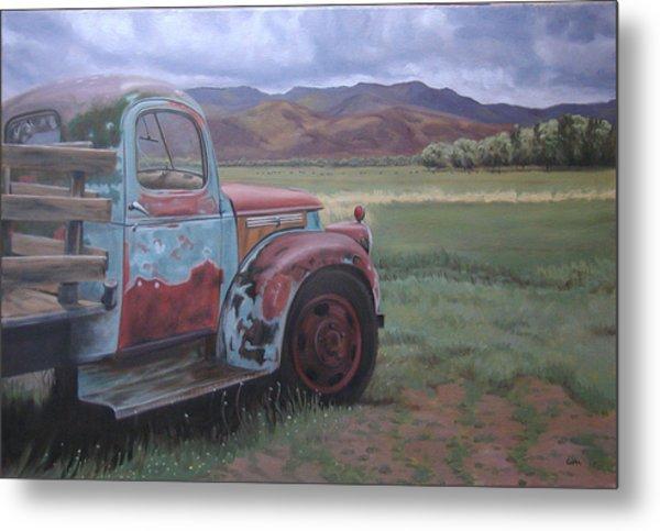 Taos Truck Metal Print