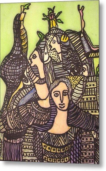Tapestry Of Life Metal Print by Nabakishore Chanda