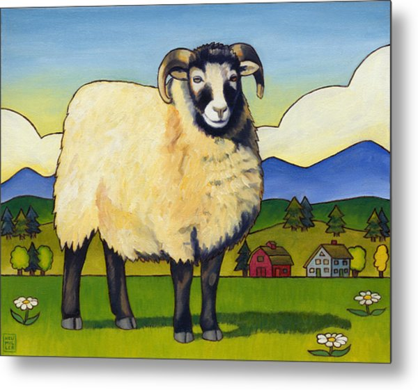 Taras Sheep Metal Print