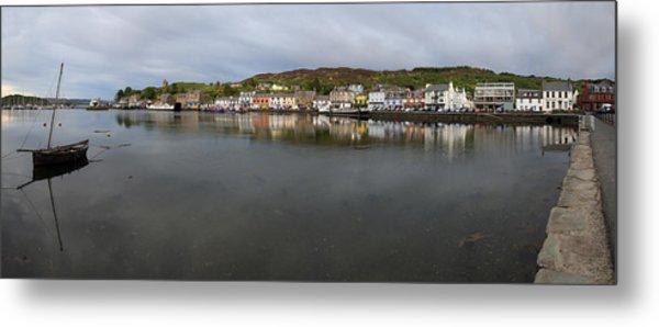 Tarbert Harbour - Panorama Metal Print