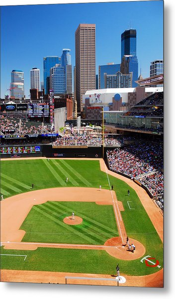 Target Field, Home Of The Twins Metal Print