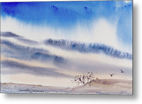 Tasmanian Skies Never Cease To Amaze And Delight. Metal Print