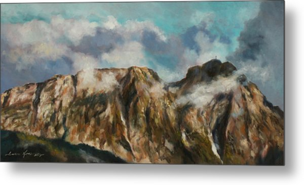 Tatry Mountains- Giewont Metal Print