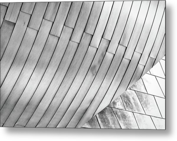 Taubman Museum Abstract Metal Print