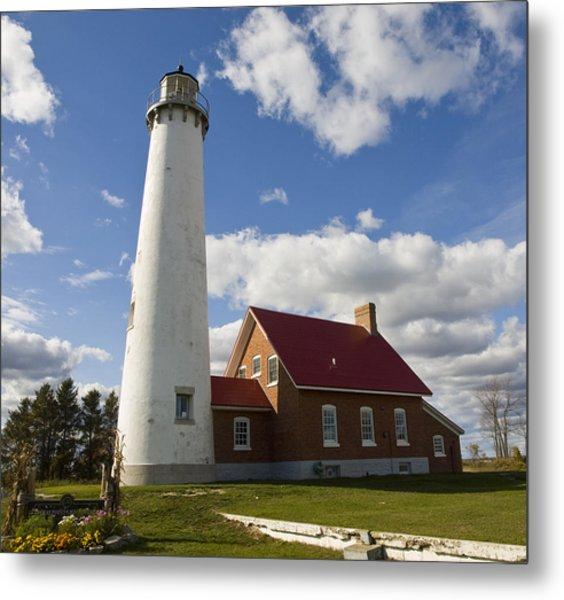 Tawas Point Lighthouse Metal Print