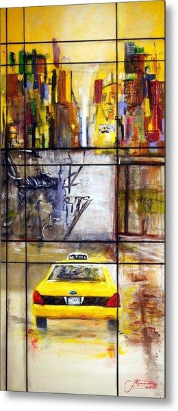 Taxi 7 Metal Print