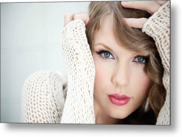Taylor Swift 2012 Metal Print