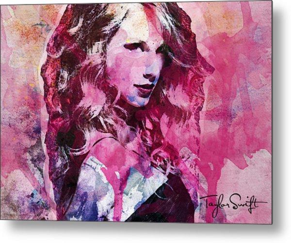 Taylor Swift - Oncore Metal Print