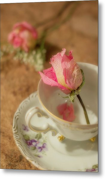 Tea And Roses Metal Print