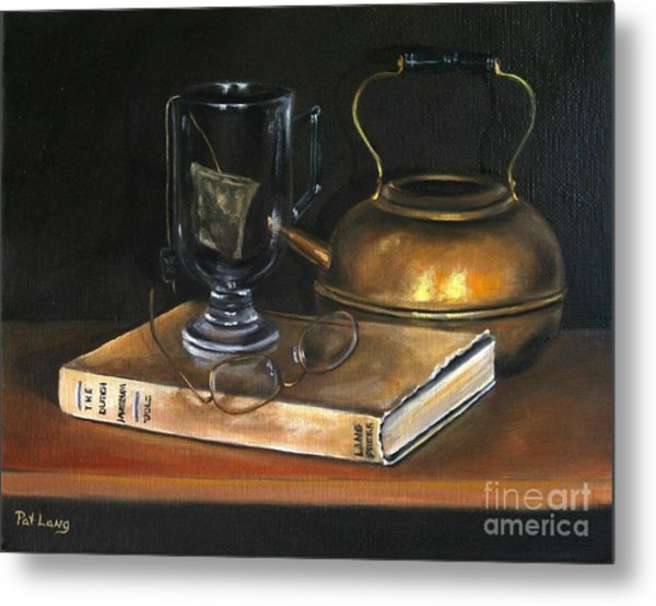Tea Break Metal Print