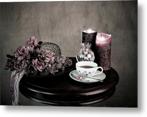 Tea Party Time Metal Print