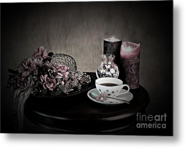 Tea Time 2nd Rendition Metal Print
