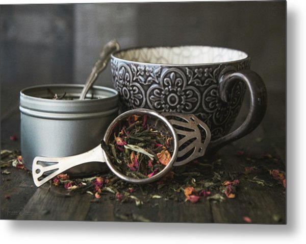 Tea Time 8312 Metal Print