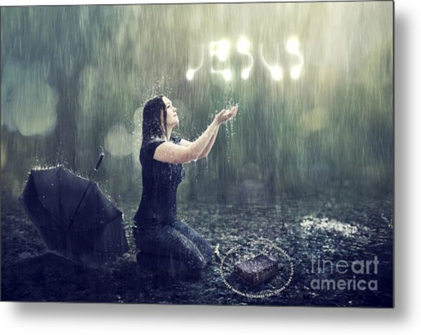Teaches Me To Remain Stable In A Storm Metal Print