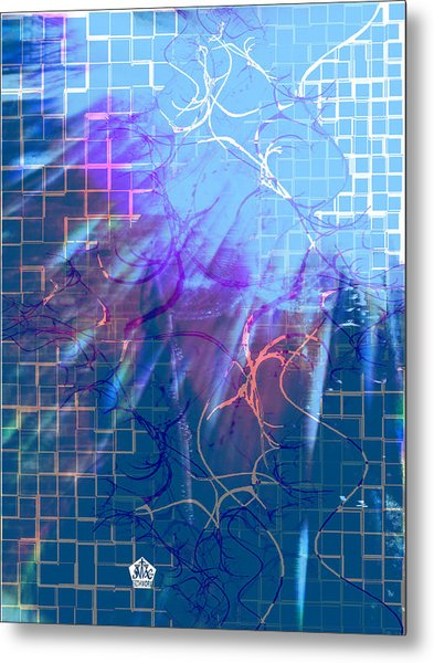 Tear In The Fabric Of Time Metal Print