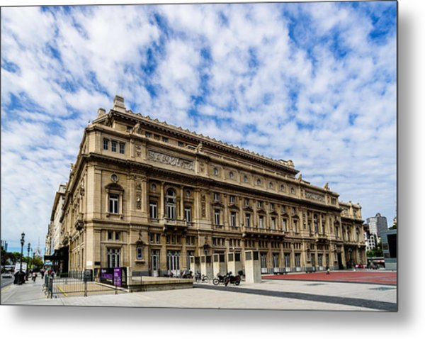 Teatro Colon Metal Print