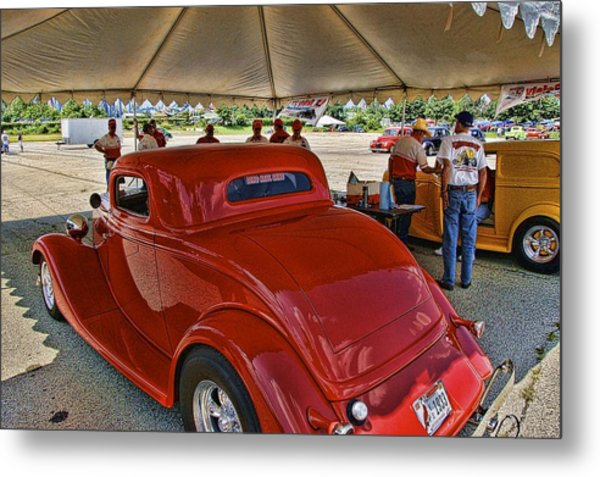 Tech Inspection Metal Print by Nick Roberts