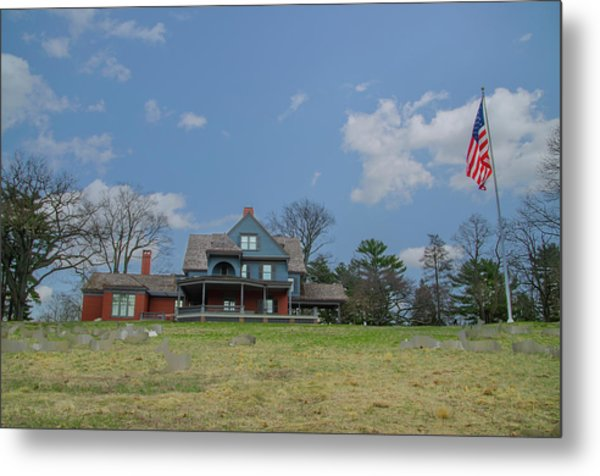 Teddy Roosevelts House - Sagamore Hill Metal Print