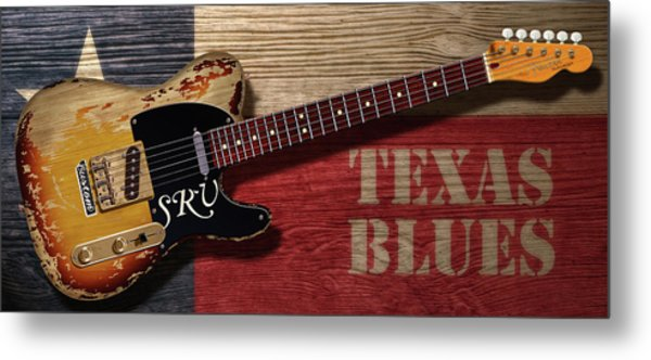 Tele Texas Blues Metal Print