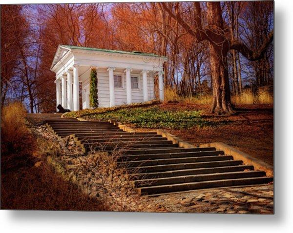 Temple Of Diana Lazienki Park Warsaw  Metal Print