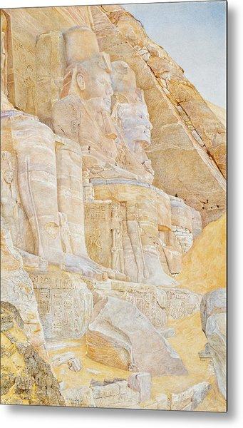 Temple Of Ramses II Metal Print
