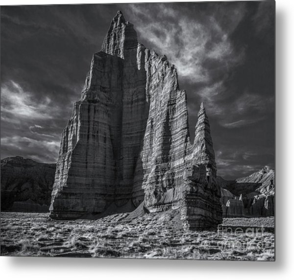 Temple Of The Moon I/r View Metal Print