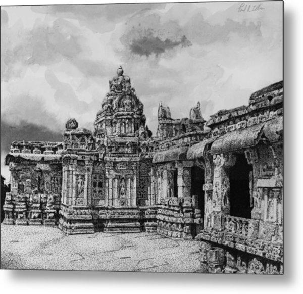 Temple Ruins Metal Print by Paul Illian