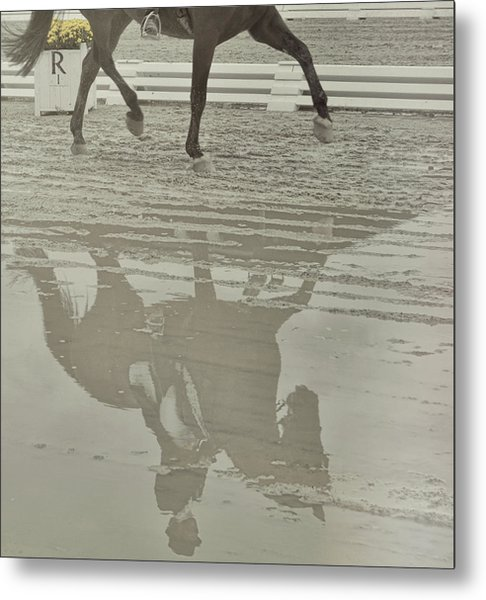 Tempo Reflected Metal Print by JAMART Photography